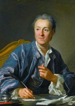 Denis Diderot *oil on canvas *81 x 65 cm *signed: L. M. Van Loo / 1767
